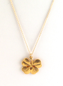 image of Clover Charm Necklace