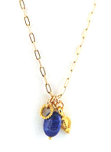 image of Multi Charm & Gemstone Necklace