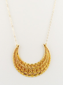 image of New Roman Filigree Necklace