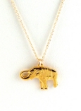Elephant Charm Necklace $75 On Sale $35